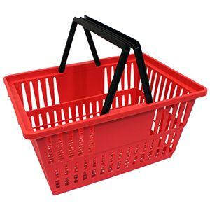 Red Express Size, Shopping Baskets