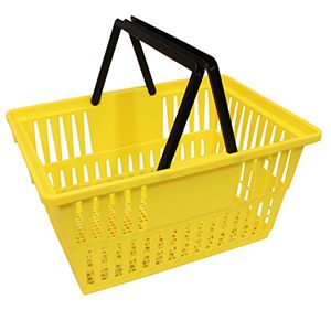 Yellow Express Size, Shopping Baskets