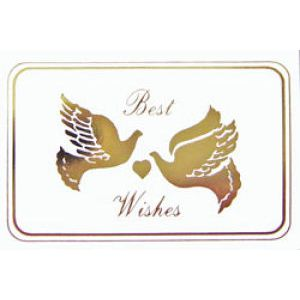 Everyday Gift Enclosure Card, 'Best Wishes'