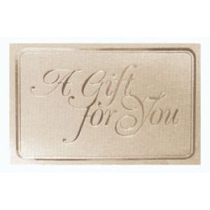 Everyday Gift Enclosure Card, 'A Gift For You'