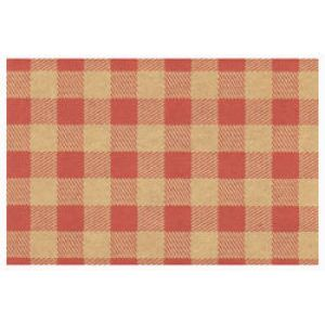 Everyday Gift Enclosure Card, Gingham on Kraft - Red