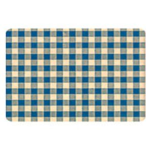 Everyday Gift Enclosure Card, Gingham on Kraft - Blue