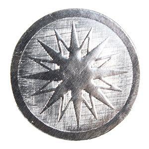 Starburst - Silver, Gift Labels