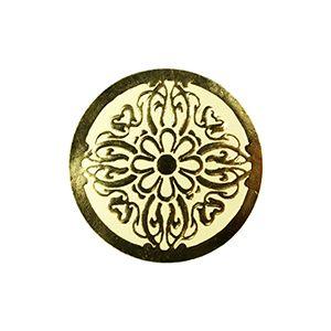 Crest - Gold, Gift Labels