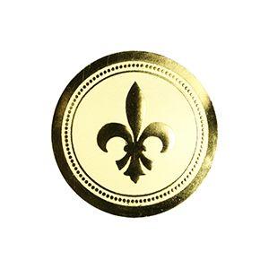 Fleur de Lis - Gold, Gift Labels