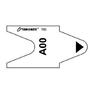 Turn O Matic Tickets, T80 - Alpha/ Blank