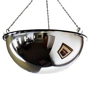 "18"" Full Mirror Dome Acrylic, 360 deg. Viewing area"