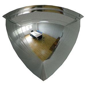 "18"" Quarter Mirror Dome Acrylic, 90 deg. Viewing area"