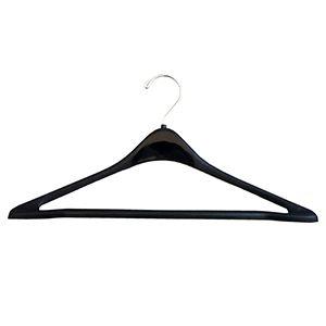 "17"" Contoured 390 Black Hanger"