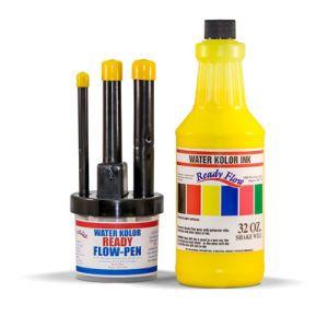 Trio Pen Set & Cannister w/32oz Ink - 41633
