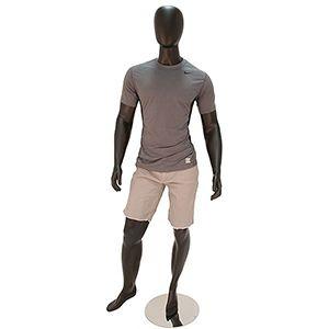"Mannequin Male Black 72"""