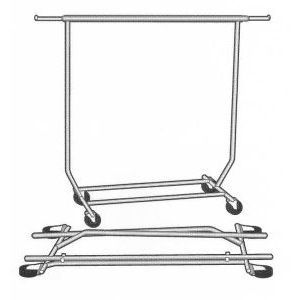 Collapsible Salesman, Rolling Rack