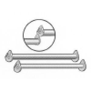 """60"""" Bar for Rectangle Hangrail Rack"""