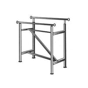 Rectangular 2 Hangrail Rack