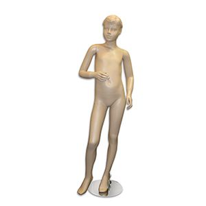 """Mannequin Kids Boy Molded Hair, with Face Fleshtone 57"""""""