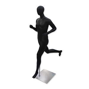 Mannequin Female Running Black