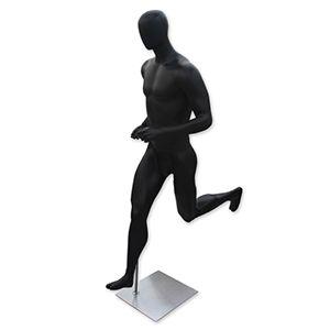 Mannequin Male Running Black