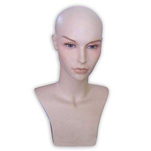 Head Female Wig Head Fleshtone