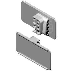Quad wire Label Holders for Scanner Hooks