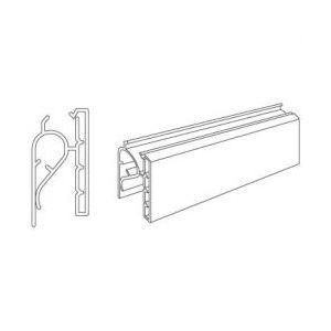 "Basket Label Holder, for Wire Shelf, 3"" x 1-1/4"""