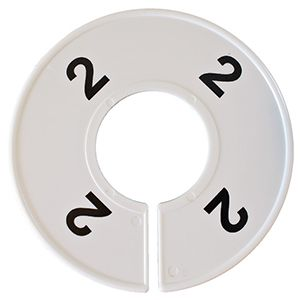 2 Round Size Dividers