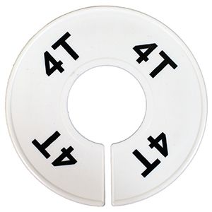 """""""4T"""" Round Size Dividers"""