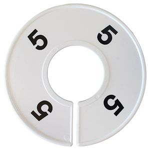 5 Round Size Dividers