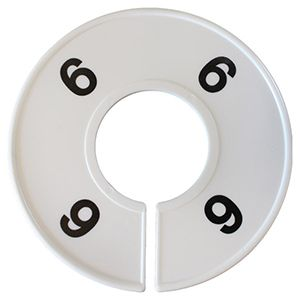 6 Round Size Dividers
