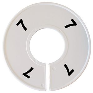 """""""7"""" Round Size Dividers"""