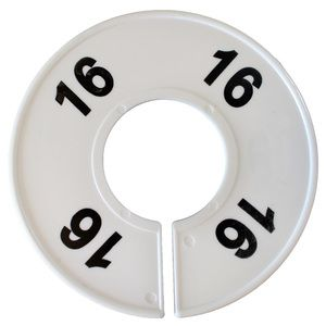 """""""16"""" Round Size Dividers"""