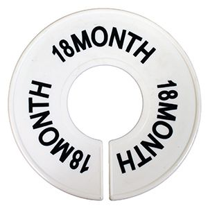 """""""18 MO"""" Round Size Dividers"""