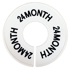 """""""24 MO"""" Round Size Dividers"""