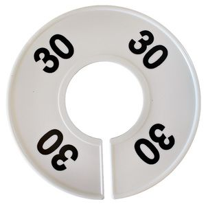 """""""30"""" Round Size Dividers"""