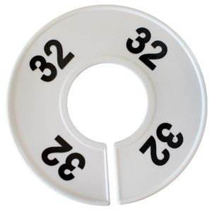 """""""32"""" Round Size Dividers"""