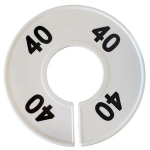 """""""40"""" Round Size Dividers"""