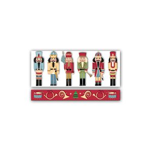 """Money Holder Cards, Traditional Nutcracker Collection, 8.5"""" x 3.5"""""""