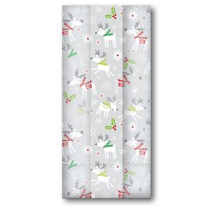 """Cello Bags, Reindeer Hop Collection, 4"""" x 9.5"""" x 2.5"""""""