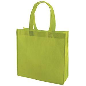 "Reusable Shopping Bags, 13"" x 5"" x 13"" x 5"", Lime Green"