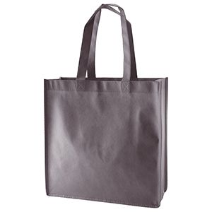 "Reusable Shopping Bags, 13"" x 5"" x 13"" x 5"", Charcoal"