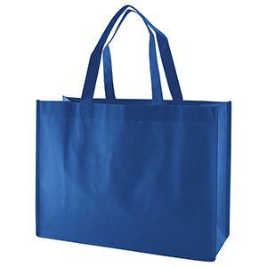 "Reusable Shopping Bags, 16"" x 6"" x 12"" x 6"", Royal Blue"