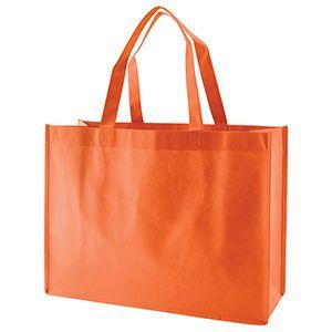 "Reusable Shopping Bags, 16"" x 6"" x 12"" x 6"", Orange"