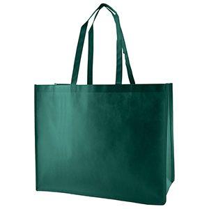 "Reusable Shopping Bags, 20"" x 6"" x 16"" x 6"", Dark Green"