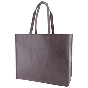 "Reusable Shopping Bags, 20"" x 6"" x 16"" x 6"", Charcoal"