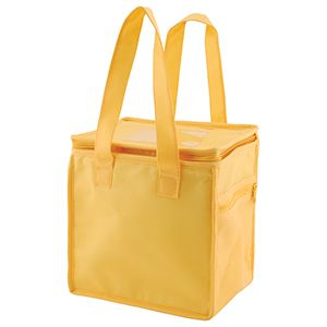 """Lunch Tote Bag, 8"""" x 6"""" x 8.5"""" x 6"""", Yellow"""