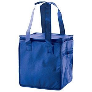 """Lunch Tote Bag, 8"""" x 6"""" x 8.5"""" x 6"""", Royal Blue"""