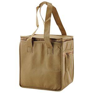 "Lunch Tote Bag, 8"" x 6"" x 8.5"" x 6"", Khaki"