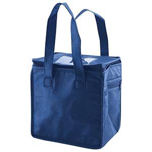 "Lunch Tote Bag, 8"" x 6"" x 8.5"" x 6"", Navy Blue"