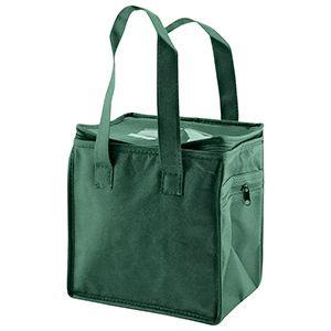 "Lunch Tote Bag, 8"" x 6"" x 8.5"" x 6"", Dark Green"
