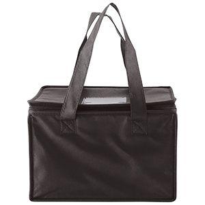 "Cooler Bag, 12"" x 8"" x 8.5"" x 8"", Black"
