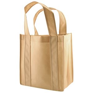 """6 Bottle Wine Bags, 10"""" x 7"""" x 11"""" x 7"""", Natural"""